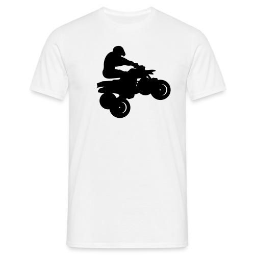 T-shirt quadeur blanc - T-shirt Homme