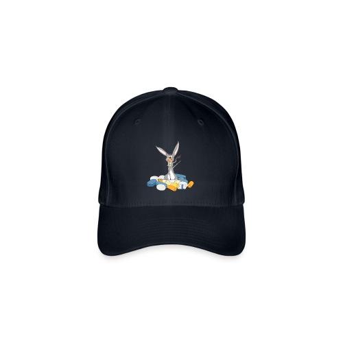 Baseballcap mit Esel - Flexfit Baseballkappe