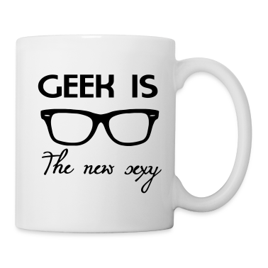 Geek is the new sexy Tazze