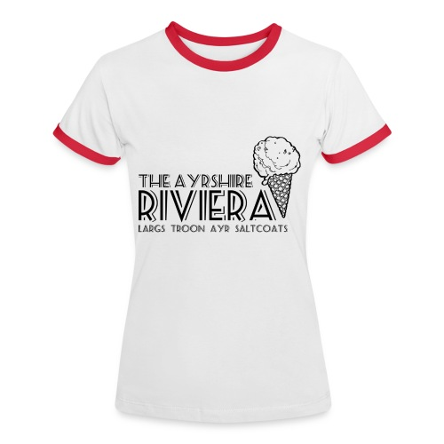 Ayrshire Riviera - Women's Ringer T-Shirt