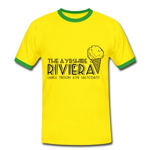 Ayrshire Riviera - Men's Ringer Shirt
