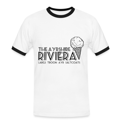 Ayrshire Riviera - Men's Ringer Shirt