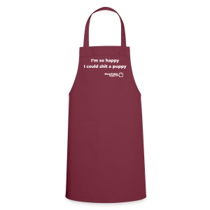 ADAM APRON: Shit a puppy - Cooking Apron