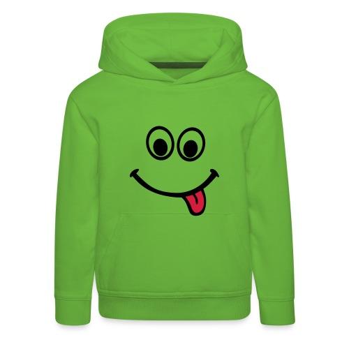 smiley face hoody - Kids' Premium Hoodie