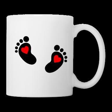 Baby voeten Mokken
