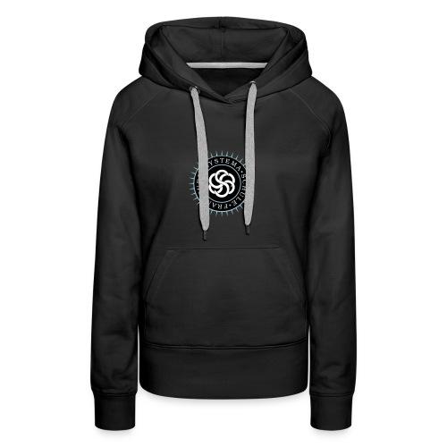 Frauen - Hoodie schwarz, Systema Logo vorne - Frauen Premium Hoodie
