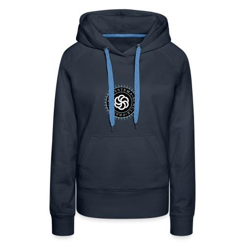 Frauen - Hoodie blau, Systema Logo vorne - Frauen Premium Hoodie