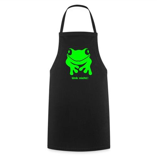 Grillschürze für den Grillmeister Unk nicht Frosch neongrün - Kochschürze