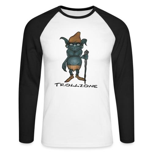 Trollzone Langarm - Männer Baseballshirt langarm