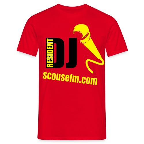 RESIDENT SCOUSE - Men's T-Shirt
