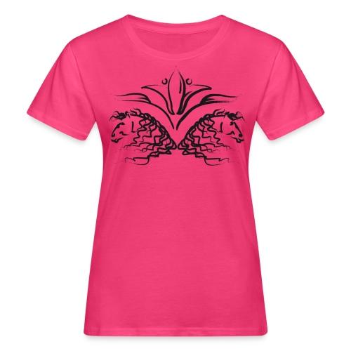 Frauen Bio-T-Shirt - Pferdelandia,Frühling, Pferde, T-Shirt ! Frauen Pferde T-Shirt  von Pferdelandia hat schicke , leuchtete Farben ! Sehr hochwertig verarbeitet.