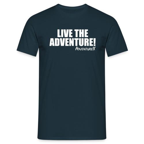 Live The Adventure River T-Shirt (Men's) - Men's T-Shirt