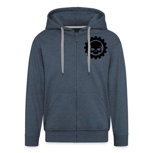 Hoody Skull Gear - Männer Premium Kapuzenjacke