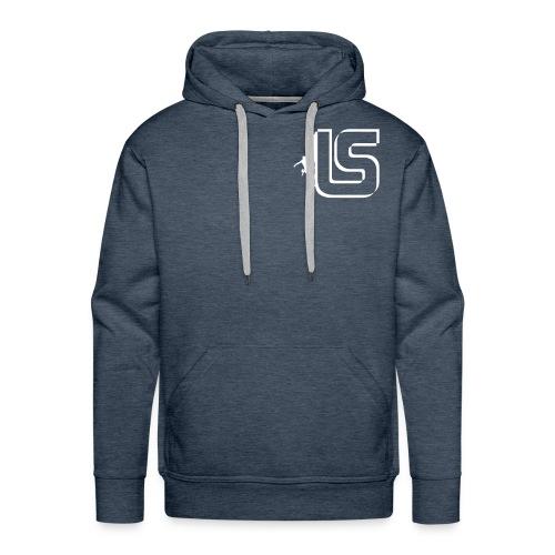 Escalade , Sweatshirt à capuche Homme LS design - Sweat-shirt à capuche Premium pour hommes