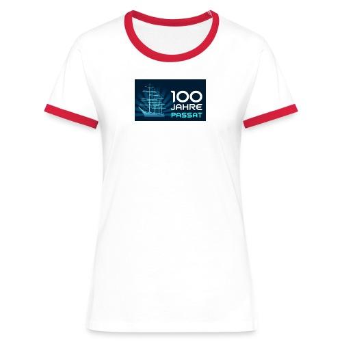 PASSAT Jubiläumsshirt - Frauen Kontrast-T-Shirt