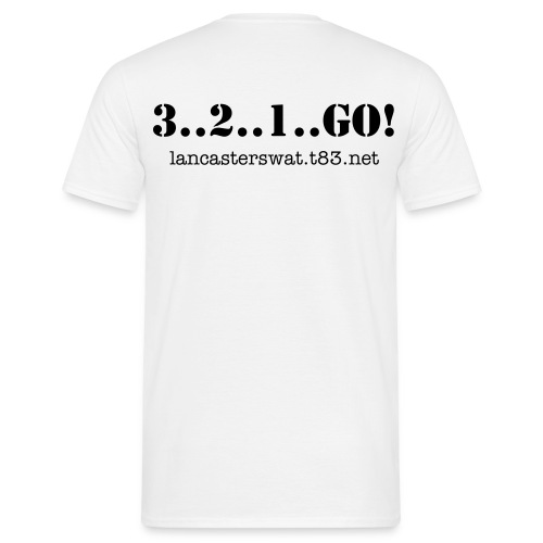 MENS 3..2..1..GO! - Men's T-Shirt