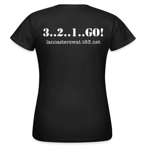 WOMENS 3..2..1..GO! - Women's T-Shirt