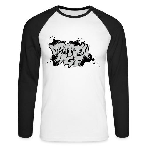 Strassenlage Fan Baseballshirt mit SL Logo 2011 - Männer Baseballshirt langarm
