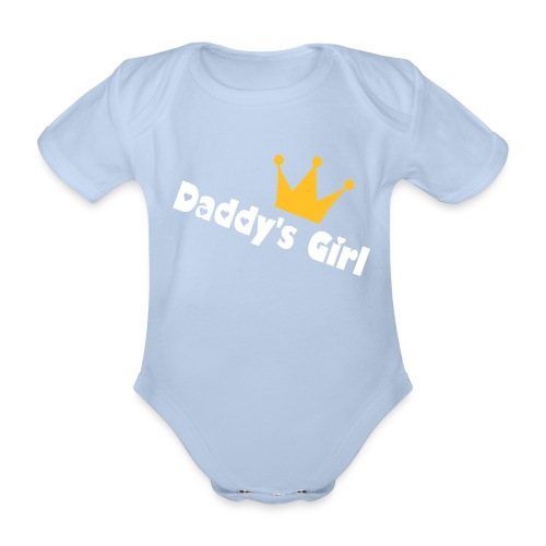 Daddys Girl - Organic Short-sleeved Baby Bodysuit