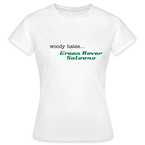 Green Rover Saloons - Womens - Women's T-Shirt