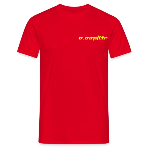On Your Bike (red) - Men's T-Shirt