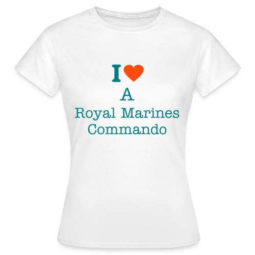 I Love My Marine - Women's T-Shirt