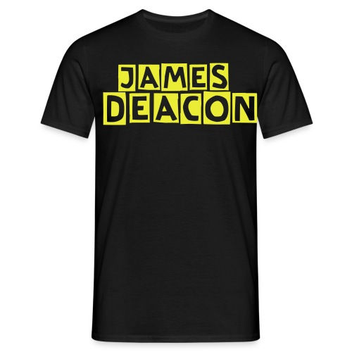 James Deacon Logo - Men's T-Shirt