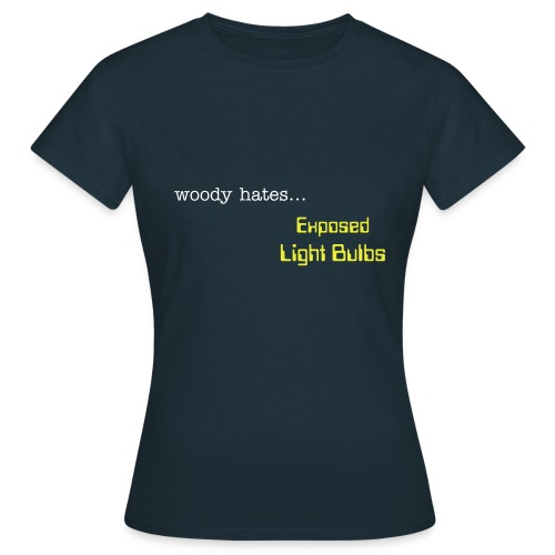 Exposed Light Bulbs - Womens - Women's T-Shirt