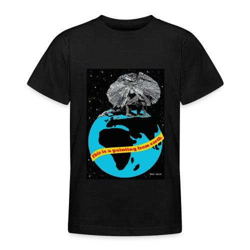 t-shirt met kraaghagedis voor kinderen - Teenager T-shirt