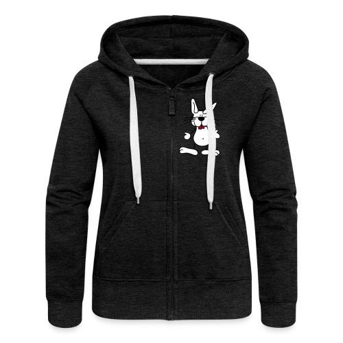 Kaputzenjacke Bunny Crew Hoody - Frauen Premium Kapuzenjacke