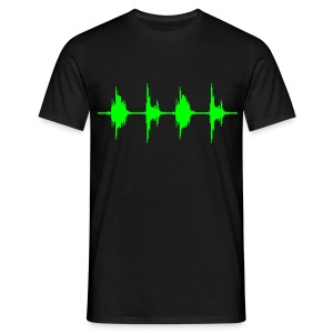 BASS BOX WAVE T-Shirts - Männer T-Shirt