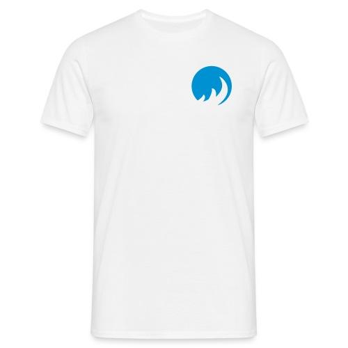 BLue FLame weiSS - Männer T-Shirt