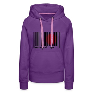 Restricted sun Pullover - Frauen Premium Hoodie
