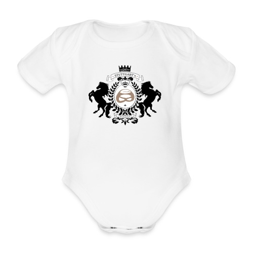 schwäbische MundART - Baby Bio-Kurzarm-Body
