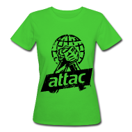 T-Shirts ~ Frauen Bio-T-Shirt ~ Attac Shirt