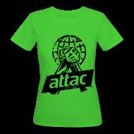 T-Shirts ~ Frauen Bio-T-Shirt ~ Attac Shirt