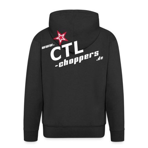 Kapuzen-Jacke mit CTL Logo - Männer Premium Kapuzenjacke