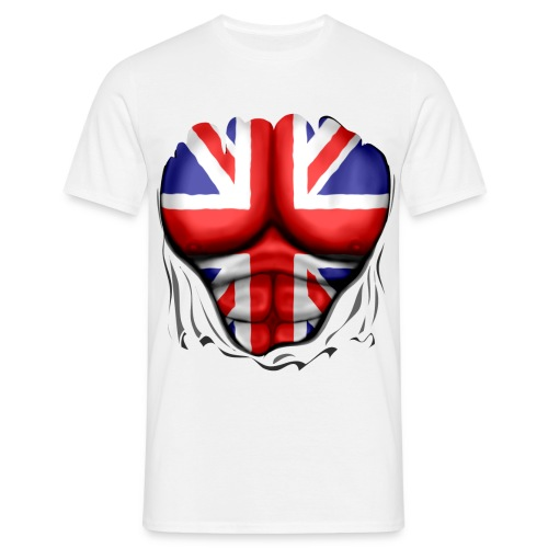 Britains muscles - Men's T-Shirt