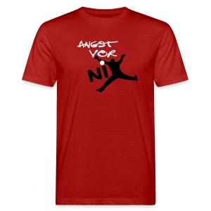 Torwart - Angst vor nix Shirt M - Männer Bio-T-Shirt