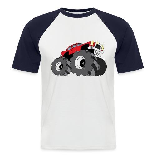 Big Fot - Monster Truck - T-shirt baseball manches courtes Homme