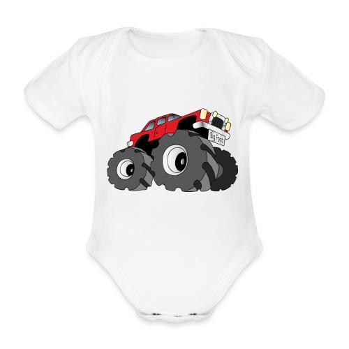 Big Fot - Monster Truck - Body bébé bio manches courtes