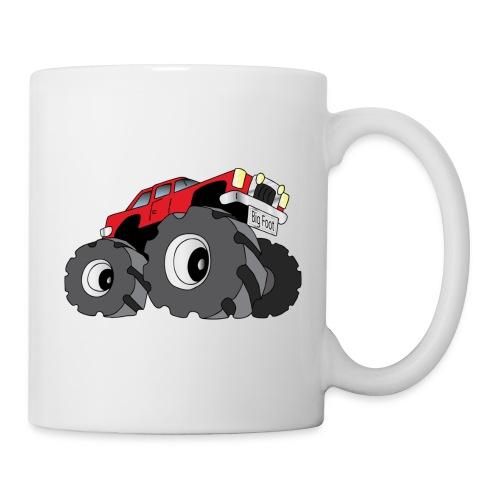 Big Fot - Monster Truck - Mug blanc