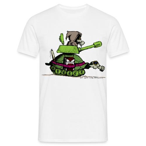Men's Apokalypse- White - Men's T-Shirt