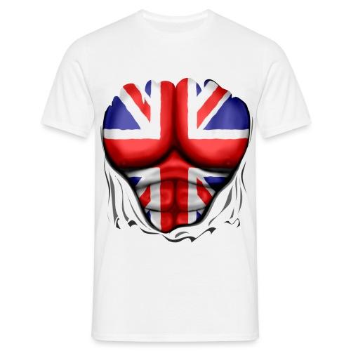Men's UK - White - Men's T-Shirt