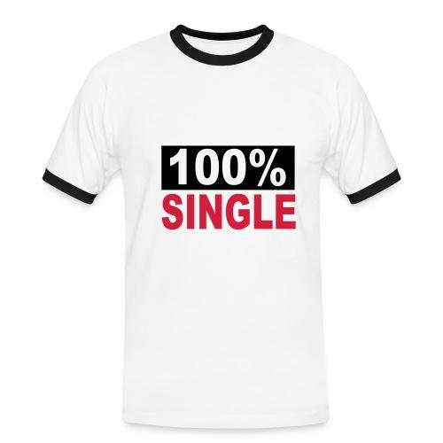 100 % SINGLE - Maglietta Contrast da uomo