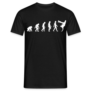 Evolution of Hip Hop (black) - Männer T-Shirt