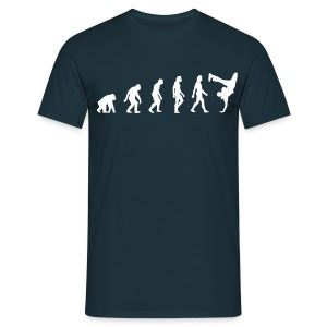 Evolution of Hip Hop (navy) - Männer T-Shirt