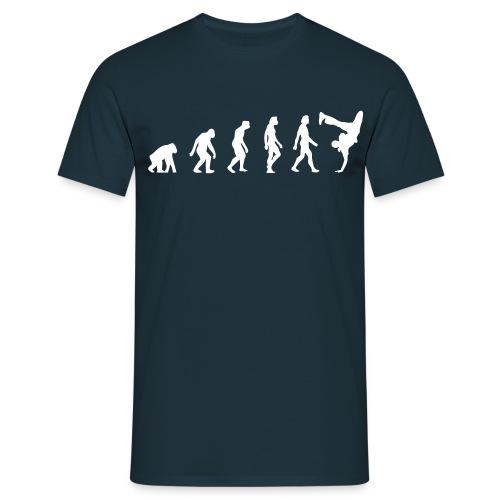Evolution of Hip Hop (navy) - Männer T-Shirt