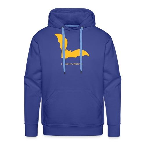 Männer Kapuzenpullover Fledermaus Bat Vampir Nachtjäger gelb Tiershirt Shirt Tiermotiv - Männer Premium Hoodie