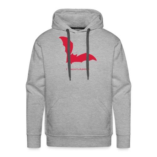 Männer Kapuzenpullover Fledermaus Bat Vampir Nachtjäger rot Tiershirt Shirt Tiermotiv - Männer Premium Hoodie
